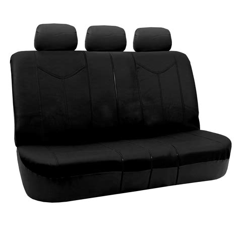 leather bench seat covers rome pu leather bench seat covers air bag compatible ebay