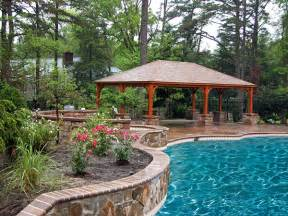 Pool Pavilion Plans by Pergolas Amp Pavilions Archive Tussey Mountain Mulch
