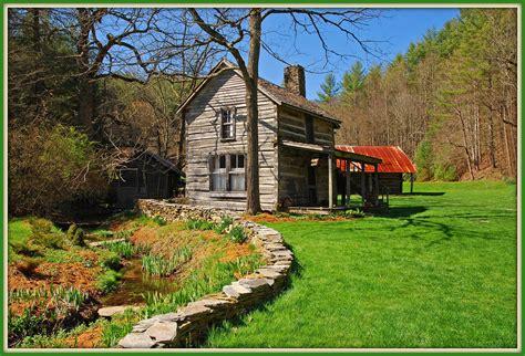 Log Cabin Inn by Log Cabin At The Mast Farm Inn Log Cabin At Valle Crucis