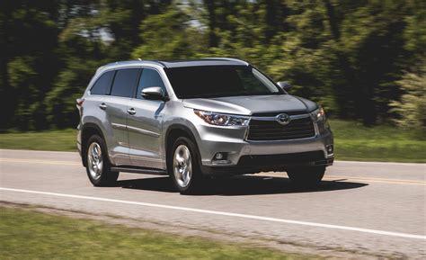 Comparison   Toyota Highlander Limited Platinum 2015   vs