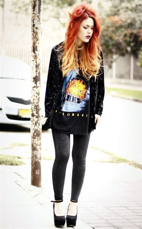 In Style Showcases Rock Style by Fashion Flashback How To Rock 90s Grunge Clothes