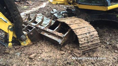 Track Guide Excavator E320 excavator track fell wranglerstar