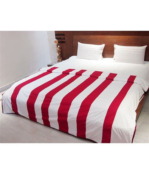 red white comforter aurave red white stripes cotton comforter buy aurave