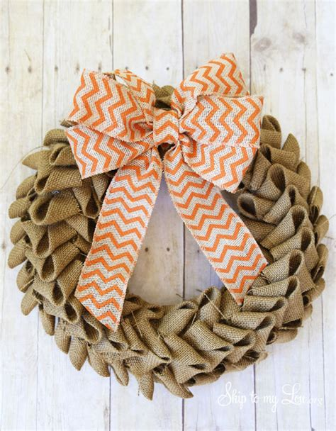 printable instructions to make a burlap wreath learn how to make a burlap wreath with this easy tutorial