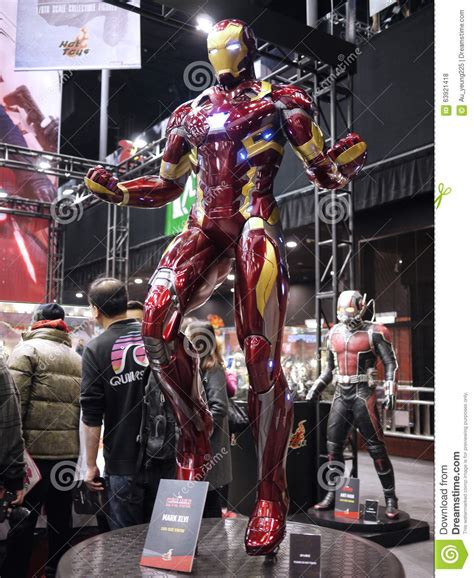 Toys Iron Xlvi Cosbaby L Original iron 46 in soul 2015 editorial stock photo image 63921418
