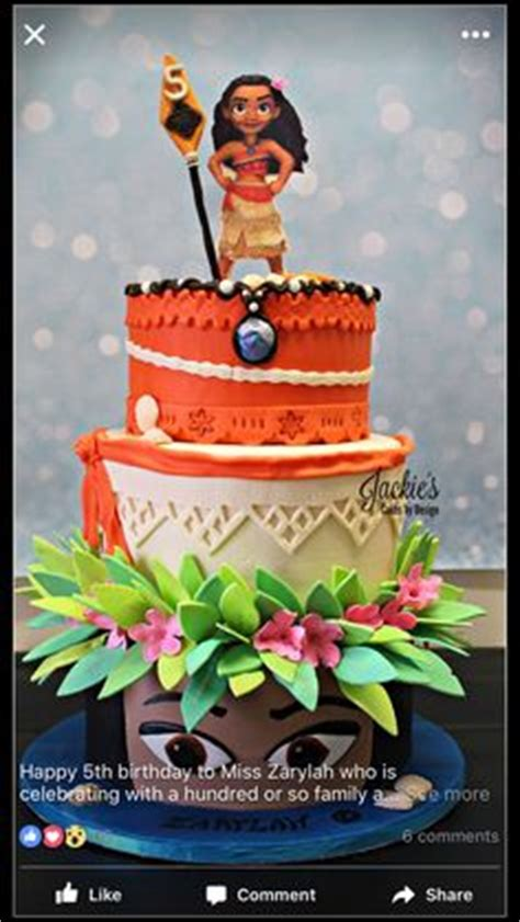 themes girl x2 moana cake by torte titiioo aubs 5th bday pinterest