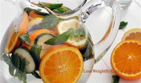 Grapefruit Tangerine Detox Water by Detox Water The Top 25 Recipes For Fast Weight Loss