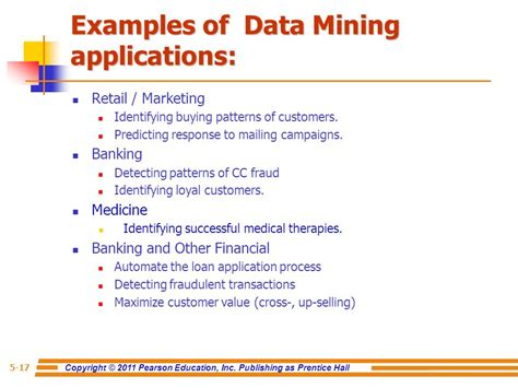 Application Of Data Mining In Finance chapter 5 data mining for business intelligence ppt