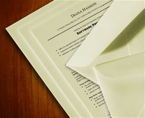 Resume Paper, 100% Cotton Paper, Cover Letter Paper