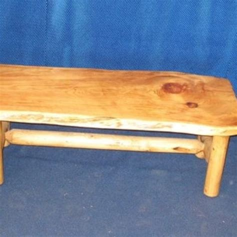 crafted knotty pine coffee table and end tables by