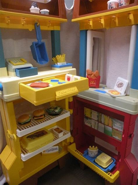 Mcdonalds Play Kitchen Set Mcdonald S Electronic Fast Food Center
