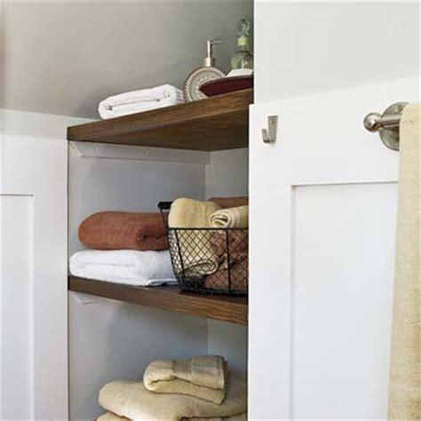 open shelving bathroom open bathroom shelves km decor diy organizing open