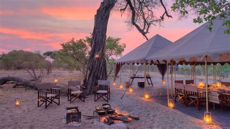 andbeyond savute under canvas botswana luxury safari