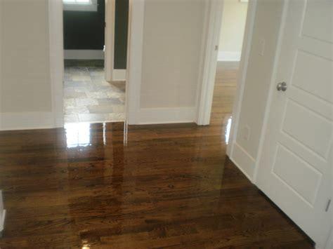 black hardwood floor stain oak walnut stain
