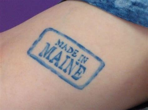 the maine tattoos originals maine and photos on