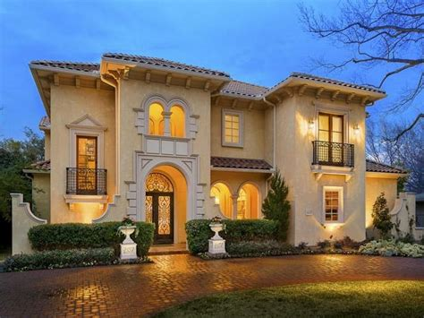 mediterranean home dallas homes mediterranean