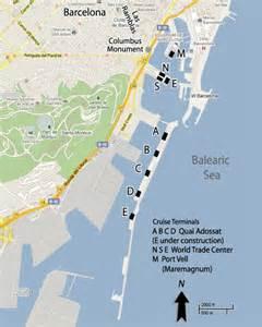 Car Rental Barcelona Cruise Terminal Cruises From Barcelona Spain Barcelona Cruise Ship