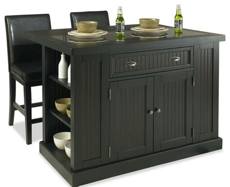 home styles nantucket kitchen island in distressed white home styles furniture nantucket island and 2 stools