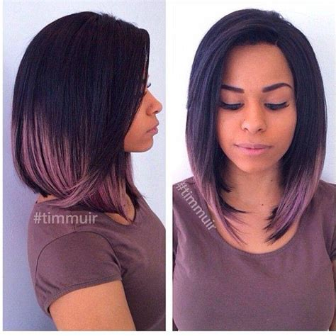 long bob with dipped ends hair the top hairstyles of the month august 2015 the
