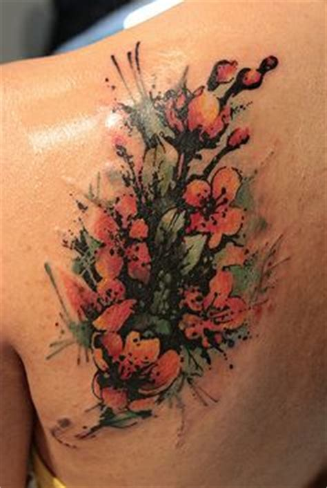 tattoo cover up knoxville cool painted cherry blossom tattoo tattoos pinterest