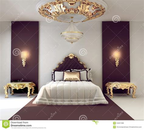 golden furnishers decorators de dubbele slaapkamer van de luxe met gouden meubilair
