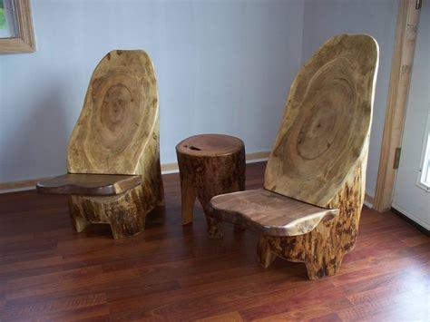 Wood Stump Chair by Tree Hugger Log Stump Chairs A Pair By Texpenn