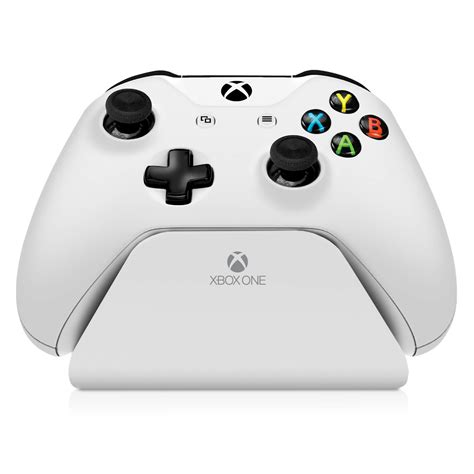 2 xbox one controllers cinch gaming esports tournament controllers 187 xbox one controller stand 2 0 white