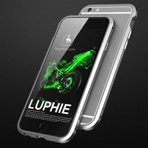 Iphone 6s Plus Metal Armor Ultrathin Frame Cover Bemper Slim new luphie aluminum ultra thin metal bumper frame cover for iphone 7 plus ebay