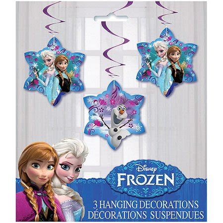 disney frozen hanging swirl decorations  count walmartcom