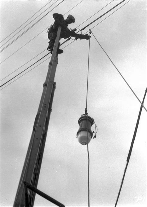 first electric street lights water and power associates