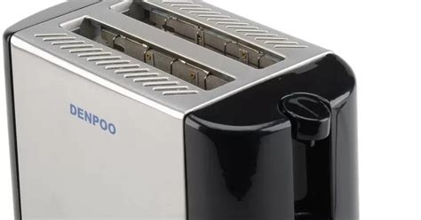 Toaster Merk Denpoo spesifikasi dan harga alat pemanggang roti elektrik denpoo dt 022d dapur modern