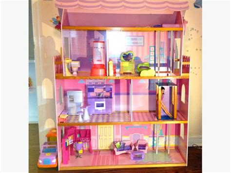 beautiful wooden doll house central ottawa inside
