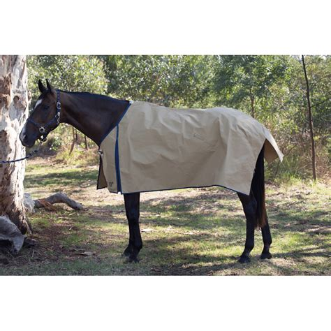 light canvas horse rug 270g rescue rugs