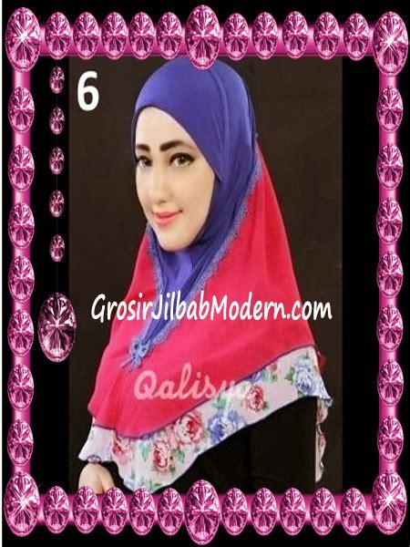 Jilbab Instan Qalisya jilbab syria kombinasi cantik ahza by qalisya no 6 grosir jilbab modern jilbab cantik jilbab