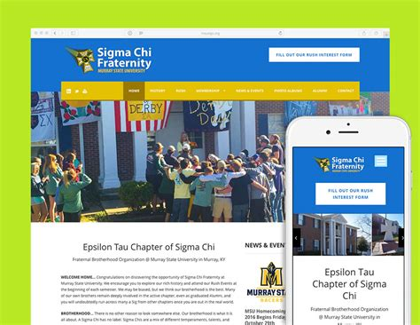 Home Design Evansville In Msu Sigma Chi Fraternity Website Visualrush