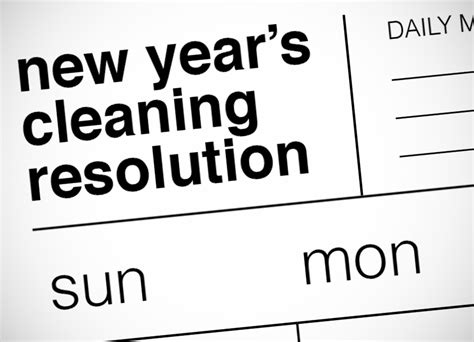 can you clean on new year new year s cleaning resolution the