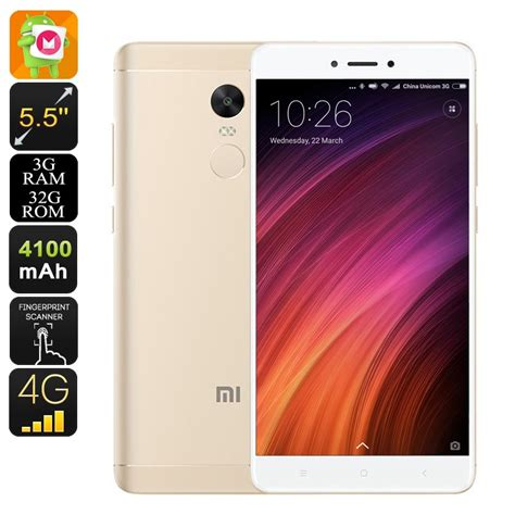 Glow In The Flower Xiaomi Note 4x Free Tempered Glass Android Phone Xiaomi Redmi Note 4x Snapdragon 625 Cpu