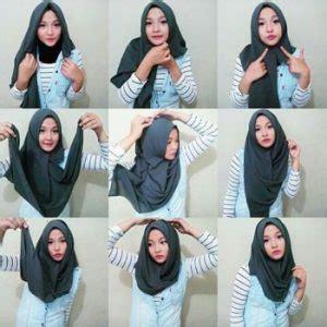 tutorial hijab paris ciput topi 42 cara memakai jilbab segi empat simple dan anggun