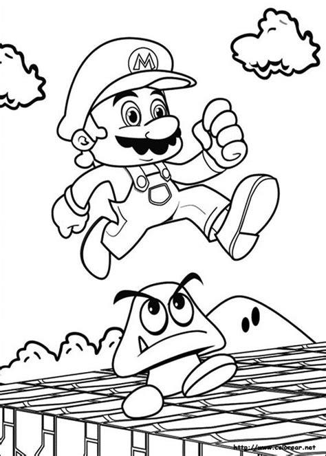 Wii U Coloring Pages by Dibujos Para Colorear De Mario Bros