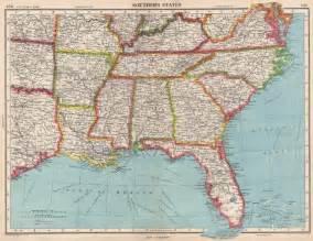 florida southern cus map usa southern states florida la ms al nc sc tn ar