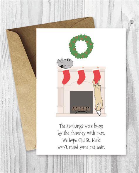 printable christmas cards funny printable holiday cards cat christmas cards funny cat