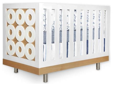 Contemporary Cribs noe crib modern cribs by petitnest