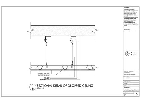 gypsum ceiling section detail ceiling omah