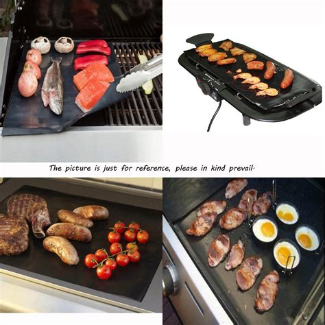 Teflon Grill 2pcs set ptfe non stick bbq grill mat barbecue baking