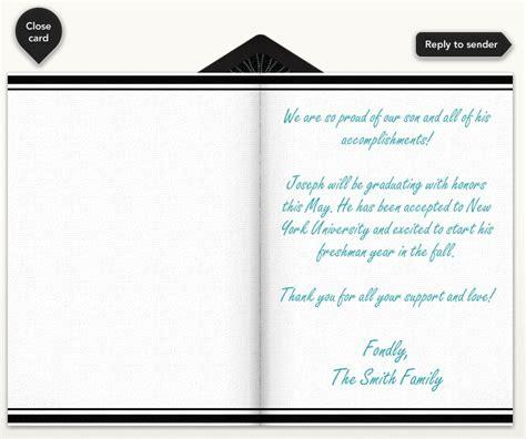 exle high school graduation invitation wording graduation announcement wording