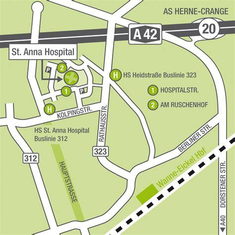 marienhospital wanne eickel marien hospital herne anfahrt