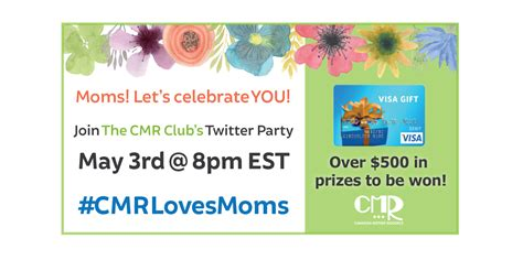Do Canadian Visa Gift Cards Work In The Us - the cmr wants to spoil you for mother s day cmrlovesmoms fab frugal mama