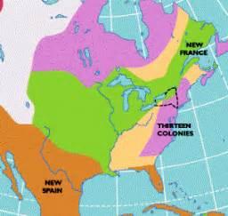 map of america 1754 colonies