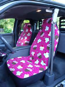 Seat Covers Custom Car 1 Set Of Cupcake Cherry Print Car Seat Covers And Steering