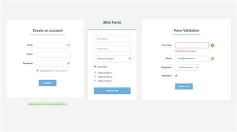 13 free css3 sign up registration forms for modern websites
